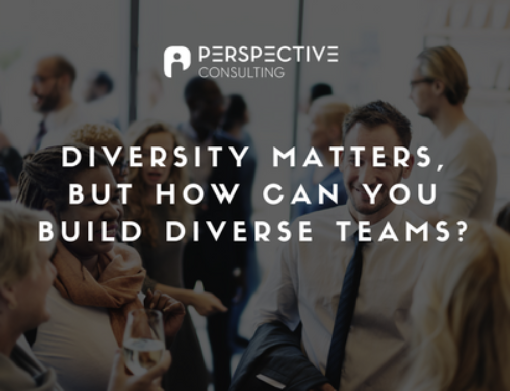 Diversity matters, but how can you build diverse teams?